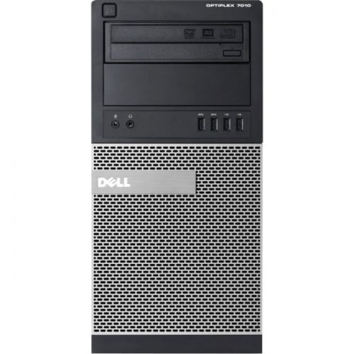Dell OptiPlex 7010 Desktop Computer - Intel Core i7 i7-3770 3.40 GHz - 4 GB DDR3 SDRAM - Windows 7 Professional - Mini-tower