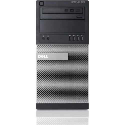 Dell OptiPlex 7010 Desktop Computer - Intel Core i7 i7-3770 3.40 GHz - 4 GB DDR3 SDRAM - Windows 7 Professional - Mini-tower