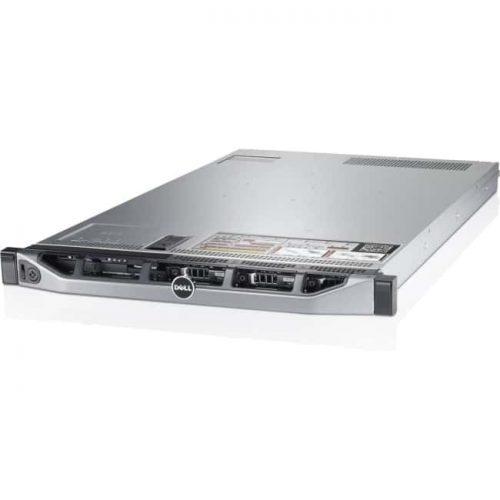 Dell PowerEdge R620 1U Rack Server - 2 x Intel Xeon E5-2690 v2 Deca-core (10 Core) 3 GHz - 128 GB Installed DDR3 SDRAM - 750 W