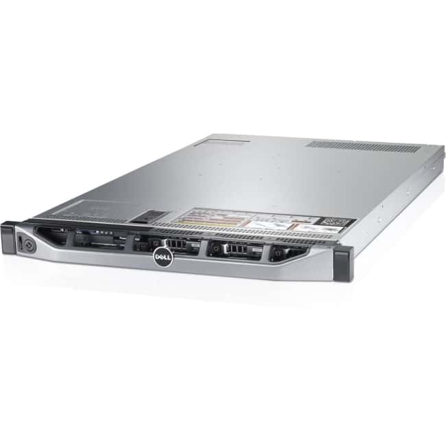 Dell PowerEdge R620 1U Rack Server - 2 x Intel Xeon E5-2640 v2 Octa-core (8 Core) 2 GHz - 128 GB Installed DDR3 SDRAM - 2 x 495 W