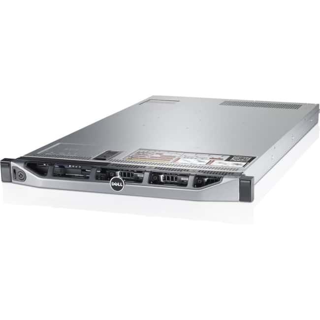 Dell PowerEdge R620 1U Rack Server - 2 x Intel Xeon E5-2660 v2 Deca-core (10 Core) 2.20 GHz - 128 GB Installed DDR3 SDRAM - 495 W