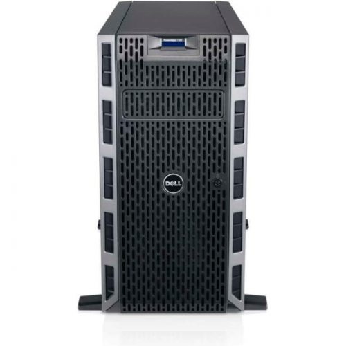 Dell PowerEdge T320 5U Tower Server - 1 x Intel Xeon E5-2407 v2 Quad-core (4 Core) 2.40 GHz - 8 GB Installed DDR3 SDRAM - 500 GB (1 x 500 GB) HDD - 6Gb/s SAS, Serial ATA Controller - 1 x 495 W