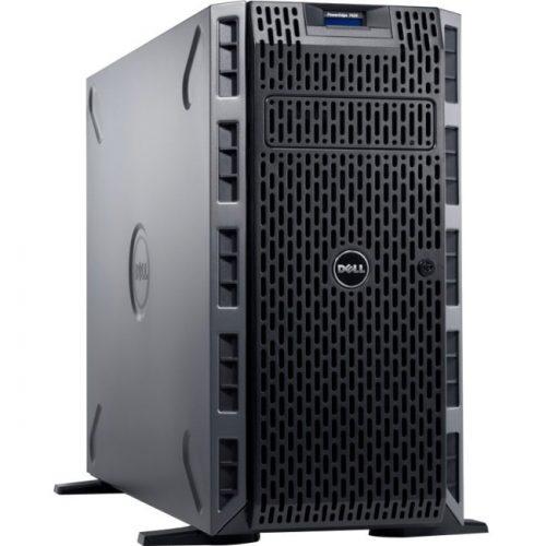 Dell PowerEdge T420 5U Tower Server - 1 x Intel Xeon E5-2407 v2 Quad-core (4 Core) 2.40 GHz - 4 GB Installed DDR3 SDRAM - 500 GB (1 x 500 GB) HDD - 6Gb/s SAS Controller - 1 x 495 W