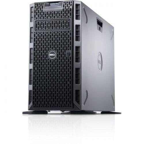 Dell PowerEdge T620 5U Tower Server - 1 x Intel Xeon E5-2609 v2 Quad-core (4 Core) 2.50 GHz - 4 GB Installed DDR3 SDRAM - 500 GB (1 x 500 GB) HDD - 6Gb/s SAS Controller - 1 x 495 W