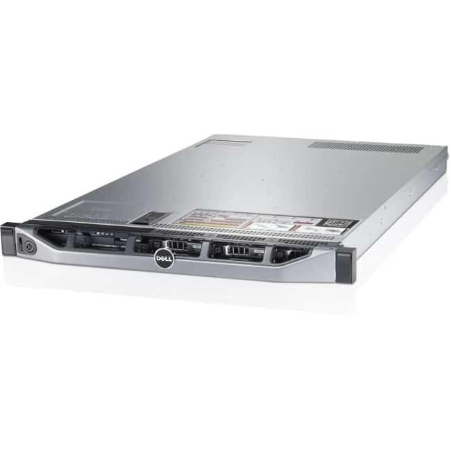 Dell PowerEdge R620 1U Rack Server - Intel Xeon E5-2640 v2 Octa-core (8 Core) 2 GHz - 16 GB Installed DDR3 SDRAM - Serial Attached SCSI (SAS) Controller - 2 x 495 W