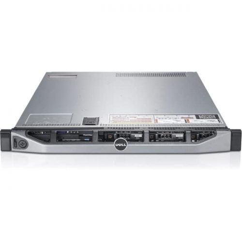 Dell PowerEdge R620 1U Rack Server - Intel Xeon E5-2670 v2 Deca-core (10 Core) 2.50 GHz - 32 GB Installed DDR3 SDRAM - Serial Attached SCSI (SAS) Controller - 2 x 750 W
