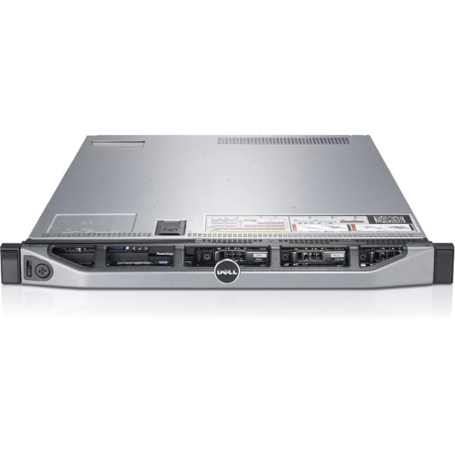 Dell PowerEdge R620 1U Rack Server - Intel Xeon E5-2670 v2 Deca-core (10 Core) 2.50 GHz - 32 GB Installed DDR3 SDRAM - Serial Attached SCSI (SAS) Controller - 2 x 750 W