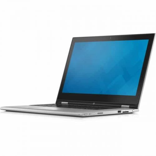 """Dell Inspiron 13 7000 i7347-7550sLV 13.3"""" Touchscreen LCD 2 in 1 Notebook - Intel Core i5 i5-4210U Dual-core (2 Core) 1.70 GHz - 8 GB DDR3L SDRAM - 500 GB HDD - Windows 8.1 64-bit - 1366 x 768 - TrueLife, In-plane Switching (IPS) Technology - Convertible - Silver"""