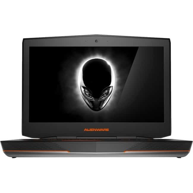 "Dell 18 ALW18-7502sLV 18.4"" LCD Notebook - Intel Core i7 (4th Gen) i7-4710MQ Quad-core (4 Core) 2.50 GHz - 8 GB DDR3L SDRAM - 1 TB HDD - 80 GB SSD - Windows 8.1 64-bit (English) - 1920 x 1080 - TrueLife - Silver Anodized Aluminum"