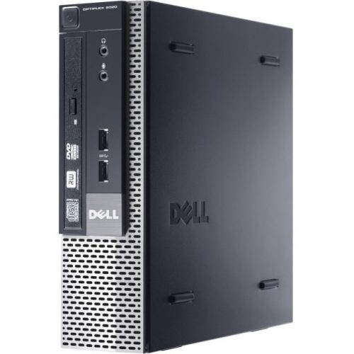 Dell OptiPlex 9020 Desktop Computer - Intel Core i5 i5-4590S 3 GHz - 4 GB DDR3 SDRAM - 320 GB HDD - Windows 7 Professional 64-bit - Ultra Small