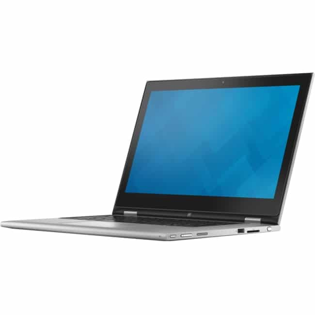 """Dell Inspiron 13 7000 13-7348 13.3"""" Touchscreen LCD 2 in 1 Notebook - Intel Core i5 i5-5200U Dual-core (2 Core) 2.20 GHz - 8 GB DDR3L SDRAM - 500 GB HDD - Windows 8.1 64-bit (English) - 1920 x 1080 - In-plane Switching (IPS) Technology, TrueLife - Convertible - Silver"""