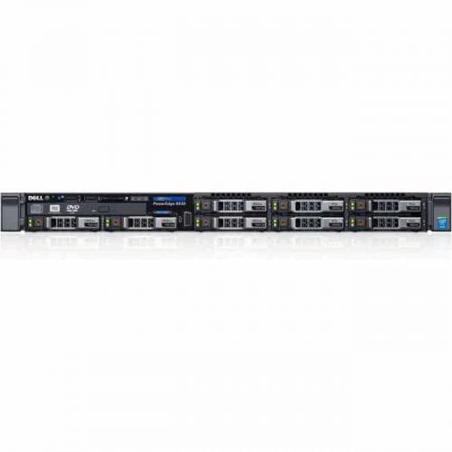 Dell PowerEdge R630 1U Rack Server - Intel Xeon E5-2620 v3 Hexa-core (6 Core) 2.40 GHz - 8 GB Installed DDR4 SDRAM - 300 GB HDD - 12Gb/s SAS, Serial ATA/600 Controller - 0, 1, 5, 10, 50 RAID Levels - 495 W