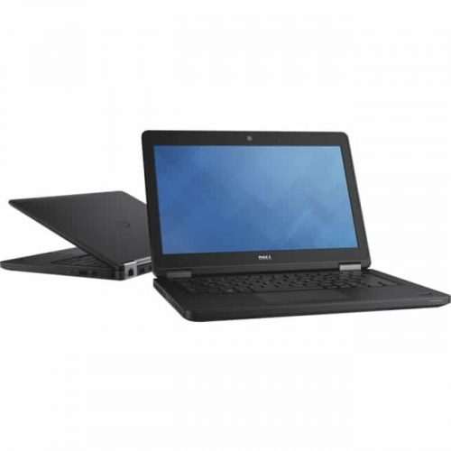 "Dell Latitude 12 5000 E5250 12.5"" LCD Notebook - Intel Core i7 i7-5600U Dual-core (2 Core) 2.60 GHz - 4 GB DDR3L SDRAM - 128 GB SSD - Windows 7 Professional 64-bit - 1366 x 768 - Black"