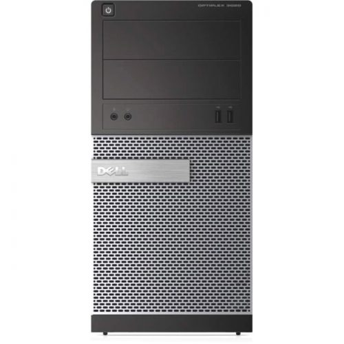 Dell OptiPlex 3020 Desktop Computer - Intel Core i5 (4th Gen) i5-4590 3.30 GHz - 4 GB DDR3 SDRAM - 500 GB HDD - Windows 7 Professional 64-bit (English/French) upgradable to Windows 8 Pro - Mini-tower - Black