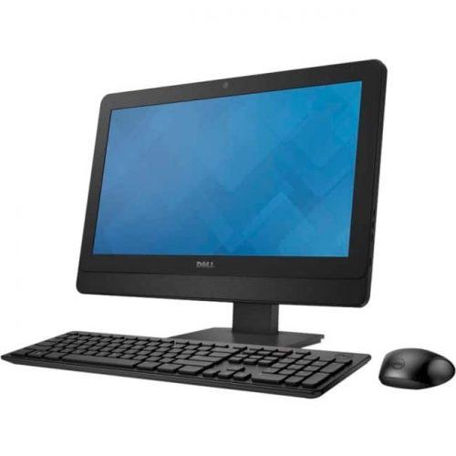 """Dell OptiPlex 3030-6824 All-in-One Computer - Intel Core i5 i5-4590S 3 GHz - 4 GB DDR3 SDRAM - 500 GB HDD - 19.5"""" 1600 x 900 - Windows 7 Professional 64-bit - Desktop - Black"""