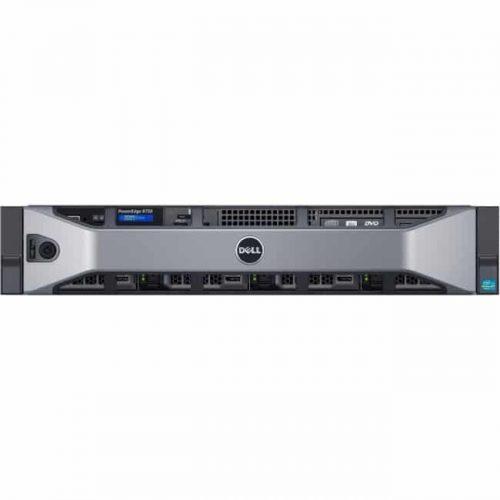 Dell PowerEdge R730 2U Rack Server - Intel Xeon E5-2620 v3 Hexa-core (6 Core) 2.40 GHz - 8 GB Installed DDR4 SDRAM - 300 GB HDD - 12Gb/s SAS, Serial ATA/600 Controller - 0, 1, 5, 6, 10, 50, 60 RAID Levels - 750 W