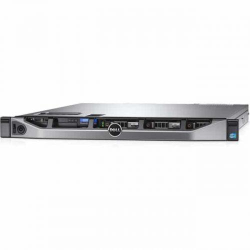 Dell PowerEdge R430 1U Rack Server - Intel Xeon E5-2630 v3 Hexa-core (6 Core) 1.60 GHz - 8 GB Installed DDR4 SDRAM - 300 GB (1 x 300 GB) HDD - 12Gb/s SAS, Serial ATA/600 Controller - 0, 1, 5, 6, 10, 50, 60 RAID Levels