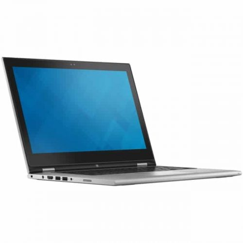 """Dell Inspiron 13 7000 13-7348 13.3"""" Touchscreen LCD 2 in 1 Notebook - Intel Core i5 (5th Gen) i5-5200U Dual-core (2 Core) 2.20 GHz - 8 GB DDR3L SDRAM - 256 GB SSD - Windows 8.1 64-bit (English) - 1920 x 1080 - TrueLife, In-plane Switching (IPS) Technology - Convertible - Silver"""