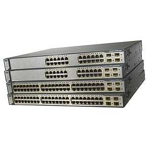 Cisco Catalyst 3750G-24PS Stackable Gigabit Ethernet Switch