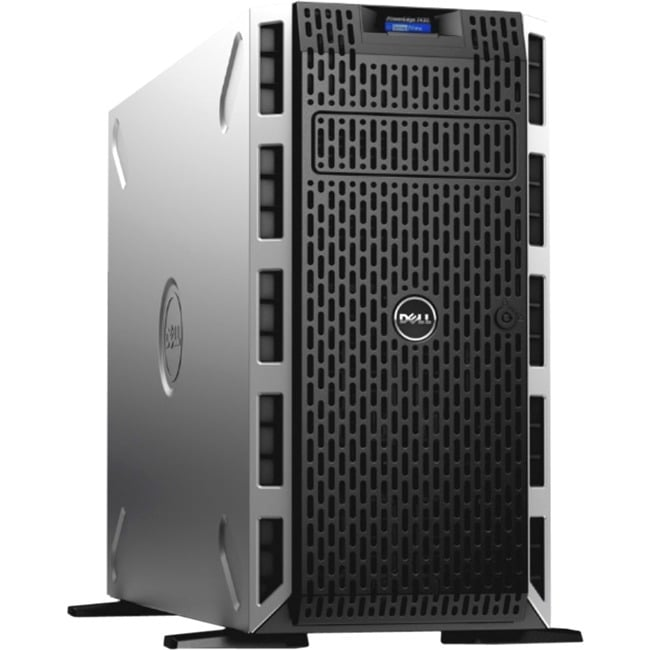 Dell PowerEdge T430 5U Tower Server - Intel Xeon E5-2620 v3 Hexa-core (6 Core) 2.40 GHz - 8 GB Installed DDR4 SDRAM - 1 TB (1 x 1 TB) HDD
