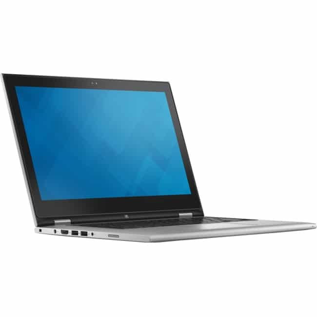 """Dell Inspiron 13 7000 13-7359 13.3"""" LCD 2 in 1 Notebook - Intel Core i7 i7-6500U Dual-core (2 Core) 2.50 GHz - 8 GB DDR3L SDRAM - 256 GB SSD - Windows 10 Home 64-bit (English) - 1920 x 1080 - TrueLife, In-plane Switching (IPS) Technology - Convertible - Silver"""