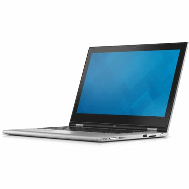"Dell Inspiron 13 7000 13-7359 13.3"" Touchscreen LCD 2 in 1 Notebook - Intel Core i5 i5-6200U Dual-core (2 Core) 2.30 GHz - 4 GB DDR3L SDRAM - 500 GB HDD - Windows 10 Home 64-bit (English) - 1366 x 768 - TrueLife, In-plane Switching (IPS) Technology - Convertible - Silver"