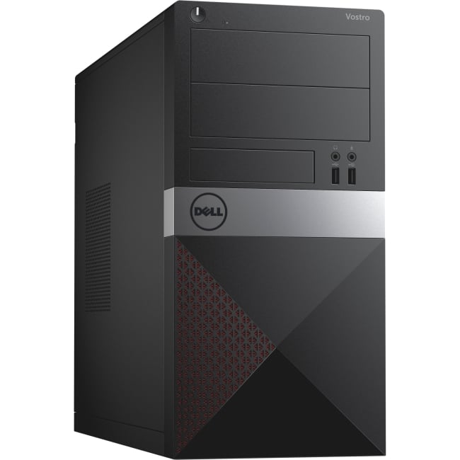 Dell Vostro 3905 Desktop Computer - AMD A-Series A4-7300 3.80 GHz - 4 GB DDR3 SDRAM - 500 GB HDD - Mini-tower