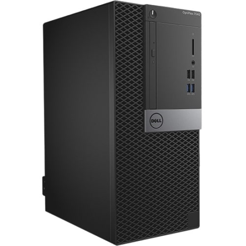 Dell OptiPlex 7040 Desktop Computer - Intel Core i7 - 8 GB DDR4 SDRAM - 500 GB HDD - Windows 7 Professional - Mini-tower