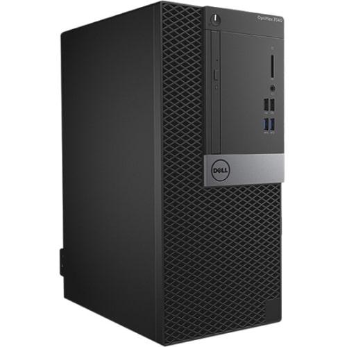 Dell OptiPlex 7040 Desktop Computer - Intel Core i7 - 8 GB DDR4 SDRAM - 500 GB HDD - Windows 7 Professional - Mini-tower