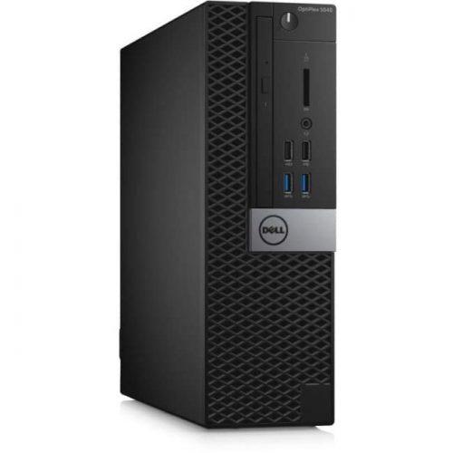 Dell OptiPlex 5040 Desktop Computer - Intel Core i5 (6th Gen) i5-6500 3.20 GHz - 4 GB DDR3L SDRAM - 500 GB HDD - Windows 7 Professional 64-bit (English/French/Spanish) upgradable to Windows 10 Pro - Small Form Factor - Black