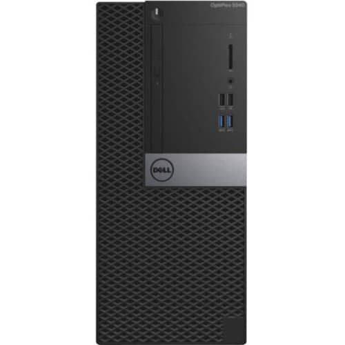 Dell OptiPlex 5040 Desktop Computer - Intel Core i5 - 4 GB DDR3L SDRAM - 500 GB HDD - Windows 7 Professional 64-bit - Mini-tower - Black