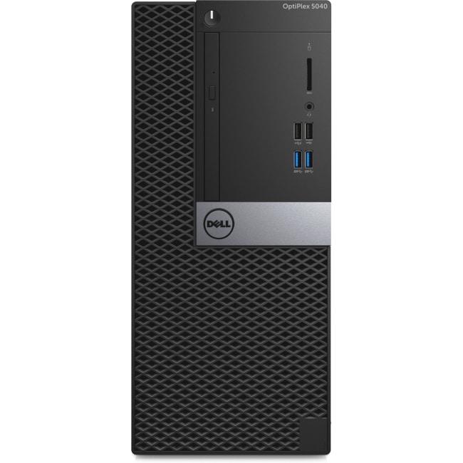 Dell OptiPlex 5040 Desktop Computer - Intel Core i5 - 8 GB DDR3L SDRAM - 500 GB HDD - Windows 7 Professional - Mini-tower - Black