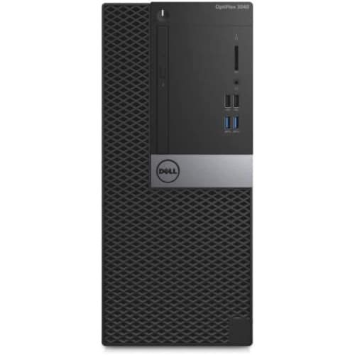 Dell OptiPlex 3040 Desktop Computer - Intel Core i3 i3-6100 3.70 GHz - 4 GB DDR3L SDRAM - 500 GB HDD - Windows 7 Professional 64-bit (English/French/Spanish) - Mini-tower