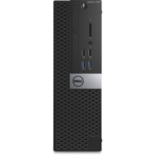 Dell OptiPlex 7000 7040 Desktop Computer - Intel Core i7 (6th Gen) i7-6700 3.40 GHz - 8 GB DDR4 SDRAM - 256 GB SSD - Windows 7 Professional - Small Form Factor