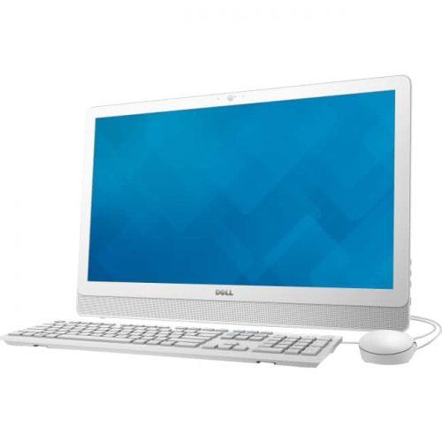"Dell Inspiron 24 3000 24-3455 All-in-One Computer - AMD A-Series A6-7310 2 GHz - 4 GB DDR3L SDRAM - 500 GB HDD - 23.8"" 1920 x 1080 - Windows 8.1 - Desktop - White, Silver"
