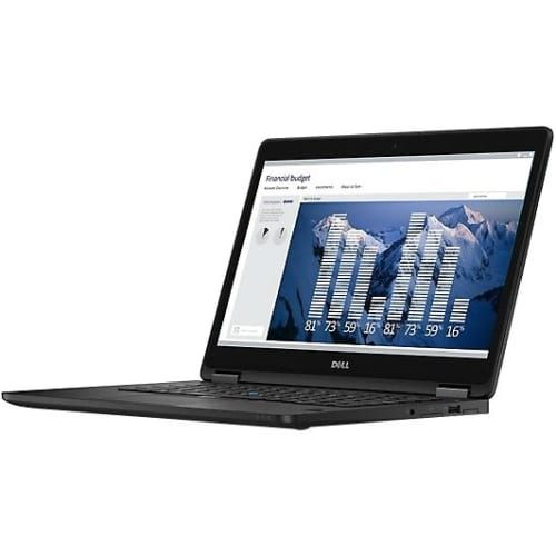 "Dell Latitude 14 7000 E7470 14"" Ultrabook - Intel Core i5 (6th Gen) i5-6300U Dual-core (2 Core) 2.40 GHz - 8 GB DDR4 SDRAM - 180 GB SSD - Windows 7 Professional 64-bit (English/French/Spanish) - 1366 x 768 - Black"