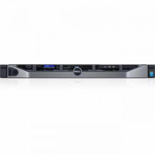 Dell PowerEdge R330 1U Rack Server - 1 x Intel Xeon E3-1240 v5 Quad-core (4 Core) 3.50 GHz - 8 GB Installed DDR4 SDRAM - 2 TB (2 x 1 TB) HDD - 350 W