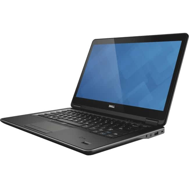 "Dell Latitude 14 7000 E7470 14"" Ultrabook - Intel Core i7 (6th Gen) i7-6600U Dual-core (2 Core) 2.60 GHz - 8 GB DDR4 SDRAM - 256 GB SSD - Windows 7 Professional 64-bit (English/French/Spanish) - 1920 x 1080 - Black"