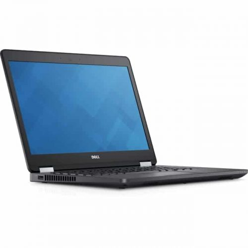 "Dell Latitude 14 5000 E5470 14"" Notebook - Intel Core i5 (6th Gen) i5-6300U Dual-core (2 Core) 2.40 GHz - 8 GB DDR4 SDRAM - 128 GB SSD - Windows 7 Professional 64-bit - 1366 x 768 - Black"