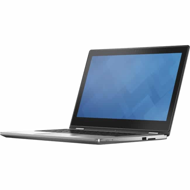 """Dell Inspiron 13 7000 13-7352 13.3"""" Touchscreen 2 in 1 Notebook - Intel Core i7 (5th Gen) i7-5500U Dual-core (2 Core) 2.40 GHz - 8 GB DDR3L SDRAM - 1 TB HDD - Windows 8.1 (English) - 1920 x 1080 - TrueLife, In-plane Switching (IPS) Technology, True Color Technology - Convertible - Silver"""
