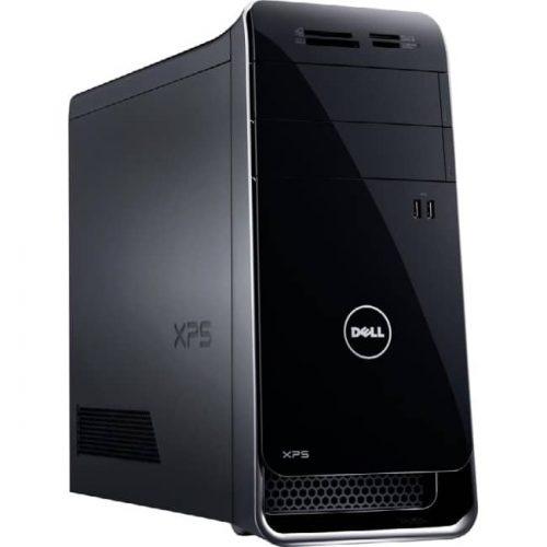 Dell XPS 8900 Desktop Computer - Intel Core i7 (6th Gen) i7-6700K 4 GHz - 24 GB DDR4 SDRAM - 2 TB HDD - 32 GB SSD - Windows 10 Home 64-bit - Mini-tower - Black