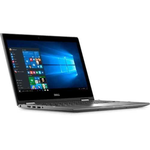 "Dell Inspiron 13-5368 13.3"" Touchscreen 2 in 1 Notebook - Intel Core i5 (6th Gen) i5-6200U Dual-core (2 Core) 2.30 GHz - 4 GB DDR4 SDRAM - 128 GB SSD - Windows 10 Home 64-bit (English) - 1920 x 1080 - TrueLife - Gray"
