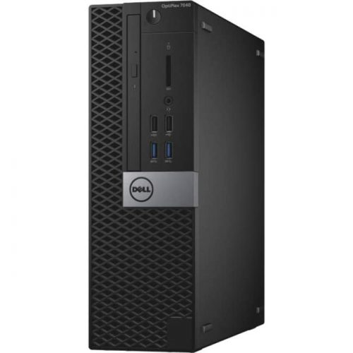 Dell OptiPlex 7000 7040 Desktop Computer - Intel Core i7 (6th Gen) i7-6700 3.40 GHz - 8 GB DDR4 SDRAM - 1 TB HDD - Windows 7 Professional - Small Form Factor