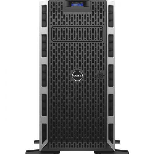 Dell PowerEdge T430 5U Tower Server - 1 x Intel Xeon E5-2603 v4 Hexa-core (6 Core) 1.70 GHz - 8 GB Installed DDR4 SDRAM - 1 TB (1 x 1 TB) Serial ATA/600 HDD - Serial ATA/600, 12Gb/s SAS Controller - 0, 1, 5, 10, 50 RAID Levels - 1 x 495 W