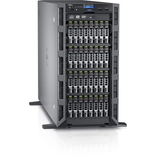Dell PowerEdge T630 5U Tower Server - 1 x Intel Xeon E5-2640 v4 Deca-core (10 Core) 2.40 GHz - 8 GB Installed DDR4 SDRAM - 600 GB (1 x 600 GB) 12Gb/s SAS HDD - Serial ATA/600, 12Gb/s SAS Controller - 0, 1, 5, 6, 10, 50, 60 RAID Levels - 1 x 750 W