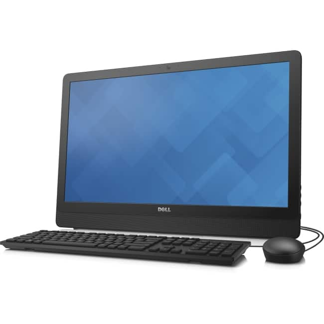 "Dell Inspiron 24 3000 24-3455 All-in-One Computer - AMD A-Series A8-7410 2.20 GHz - 8 GB DDR3L SDRAM - 1 TB HDD - 23.8"" 1920 x 1080 Touchscreen Display - Windows 8.1 (English/French) - Desktop - Black"