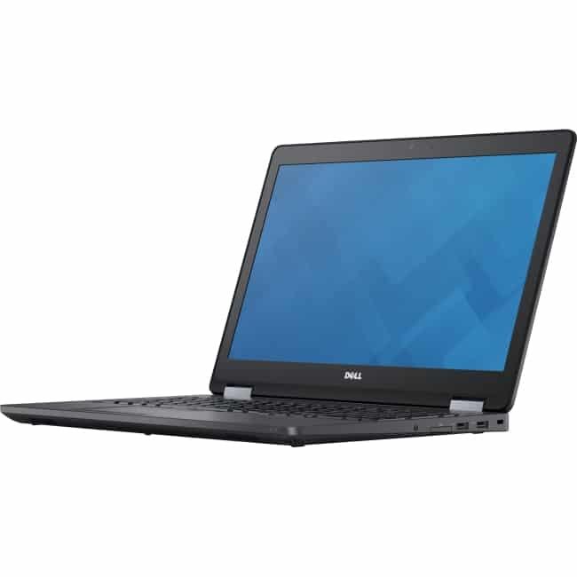 """Dell Latitude E5570H 15.6"""" Notebook - Intel Core i5 (6th Gen) i5-6440HQ Quad-core (4 Core) 2.60 GHz - 8 GB DDR4 SDRAM - 500 GB HDD - Windows 10 Pro 64-bit (English/French/Spanish) - 1920 x 1080"""