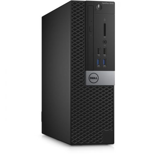 Dell OptiPlex 3000 3040 Desktop Computer - Intel Core i5 (6th Gen) i5-6500 3.20 GHz - 4 GB DDR3L SDRAM - 500 GB HDD - Windows 10 Pro 64-bit (English/French/Spanish) - Small Form Factor