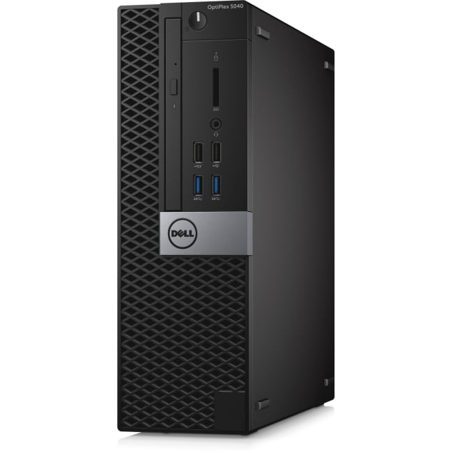 Dell OptiPlex 5040 Desktop Computer - Intel Core i7 (6th Gen) i7-6700 3.40 GHz - 8 GB DDR3L SDRAM - 256 GB SSD - Windows 10 Pro 64-bit (English/French/Spanish) - Small Form Factor