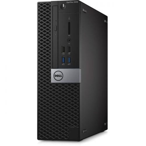Dell OptiPlex 5040 Desktop Computer - Intel Core i7 (6th Gen) i7-6700 3.40 GHz - 8 GB DDR3L SDRAM - 500 GB HDD - Windows 10 Pro 64-bit (English/French/Spanish) - Small Form Factor